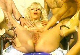 Une séance extreme chez le gyneco.