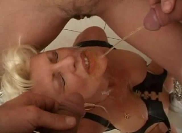 Eva delage mature francaise gang bang uro piss party