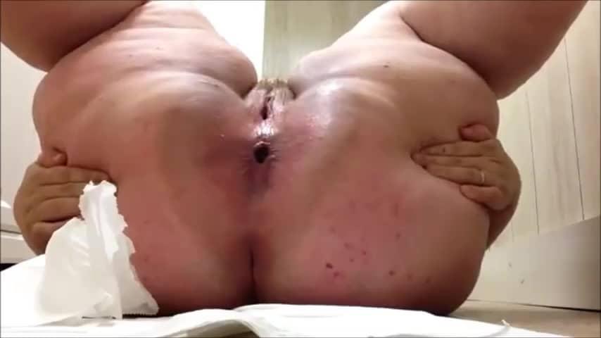scato femme qui chie BBW au gros cul